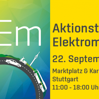 E-Mobility Action Day 2019 in Stuttgart